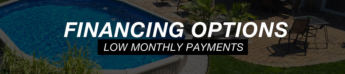 Above ground pool financing for Swimming pool financing