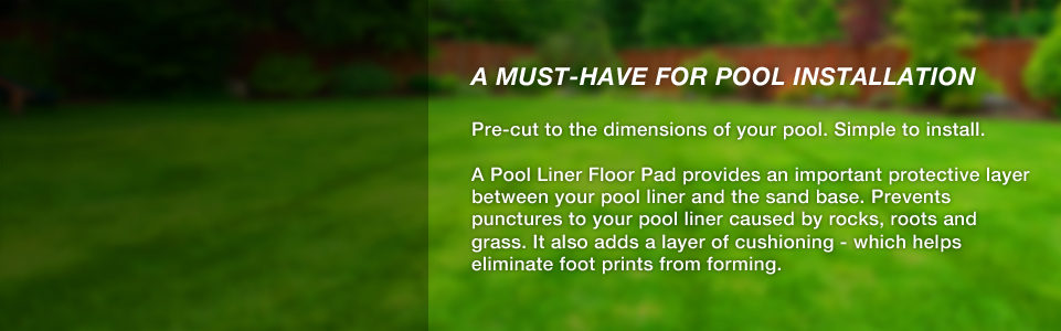 Pool Liner Floor Pads