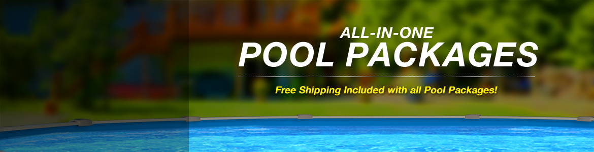 Round Saltwater Swimming Pool Packages