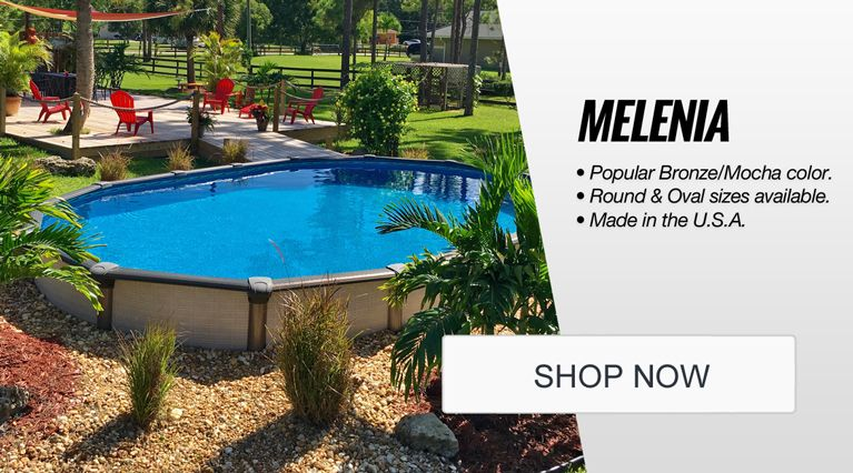 Above Ground Pools | Semi Inground Pools | Swimming Pool ... on